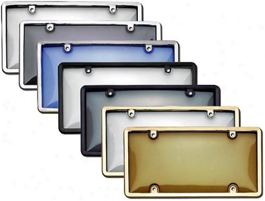 Cruiser Combo Kit License Pkate Form & Bubble Shield