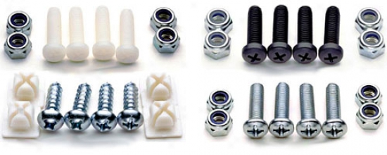 Cruiser License Plate Fasteners