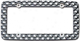 Cruiser Mirage Chrome License Plate Frame