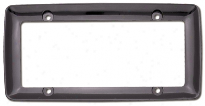 Cruiser Montego Black License Plate Frame