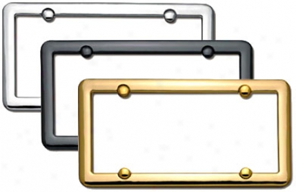Cruiser Nouveau License Plate Frame
