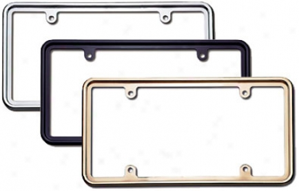 Cruiser Perimeter License Plate Frame