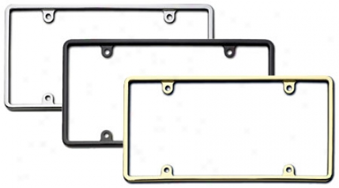 Cruiser Slim Rum License Plate Frame