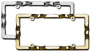 Cruiser Twist License Plate Frame