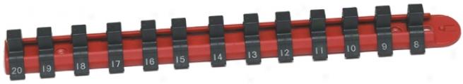 Cta 13 Piece 1/4'' Drive Nylon Metric Socket Rail