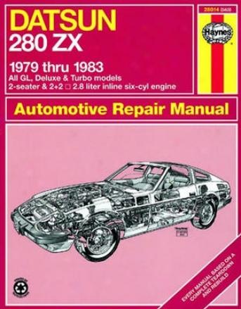 Datsun 280zx Haynes Repsir Manual (1979 - 1983)