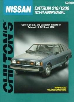 Datsun/nissan 210/1200 (1973-81) Chilton Manual