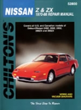 Datsun/nissan  Z& Zx (1970-88) Chilton Manual