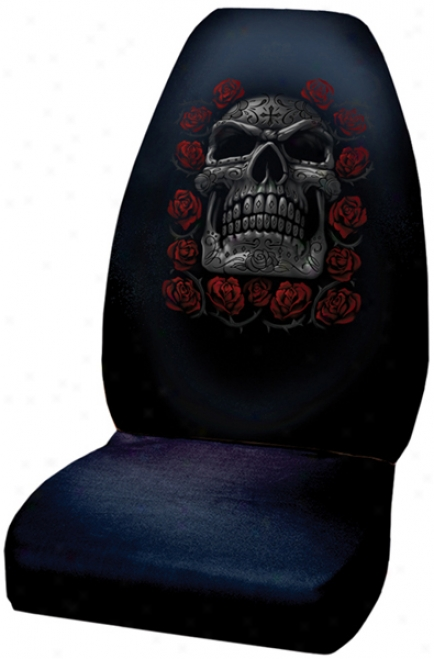 Day Of The Dead Universal Bucket Seat Cover