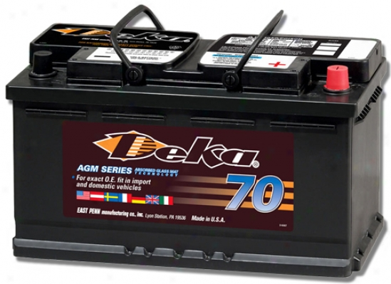 Deka Agm Exact Fit Battery
