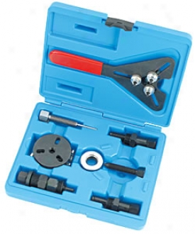 Deluxe A/c Compressor Clutch Tool Kit