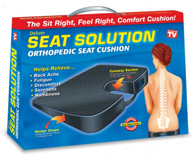 Deluxe Place Solution Orthopedic Seat Cushion