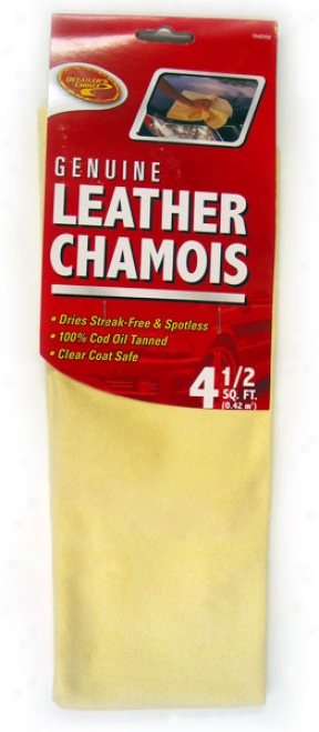 Detailer's Choice Genuie Leather Chamois (4.5 Sq. Feet)