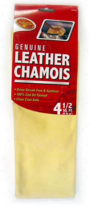 Detailer's Choice Genuie Leather Chamois (4.5 Sq. Feet)