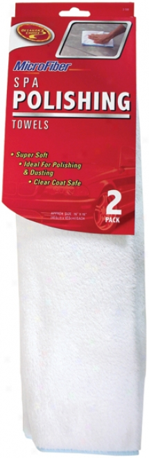 Detailers Choice? Microfiber Spa Polish Towels (2 Pack)
