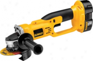 Dewalt Heavy Duty 18v Cordless 4-1/2'' Cut-off Tool