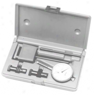 Dial Indicator Test Set With Magnetic Base - 1.00'' Range