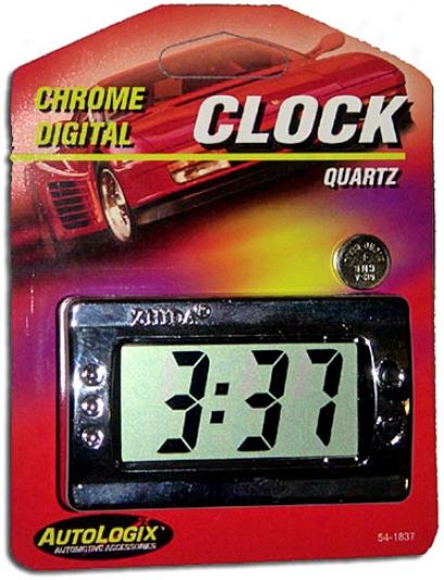 Digital Quartz Chrome Cck