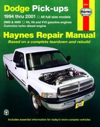 Dodge Full-size Pick-ups Haynes Repair Manuals (1994-2001)