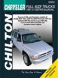 Dodge Full-size Trucks (1997-00) Chilton Manual