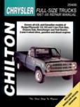 Dodge & Plymouth Pick-ups Chilton Manual (1967-1988)