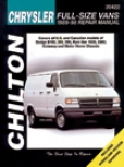 Dodge & Plymouth Vans Chilton Manual (1989-1989)