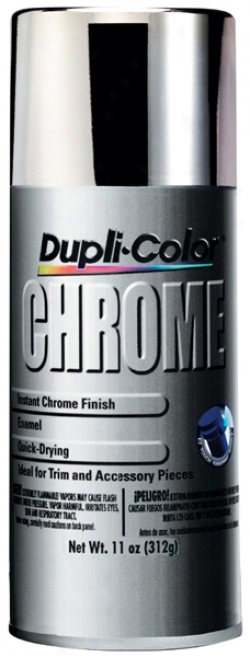 Dupli-color Instant Chrome Spray Enamel (11 Oz.)