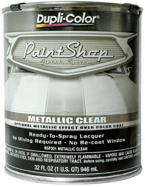 Dupli-color Paint Shop Metallic Clear Coat (32 Oz.)