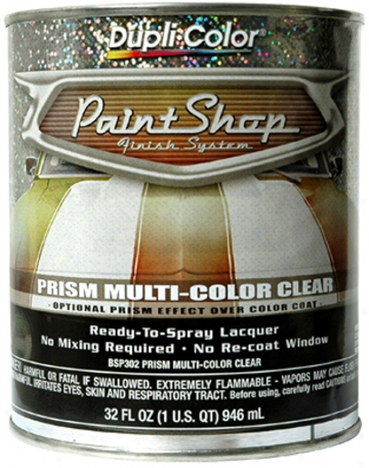 Dupli-color Paint Snop Prism Multi-color Clear Coat (32 Oz.)