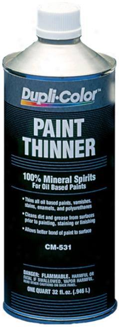 Dupli-color Premium Paint Thinner (quart)