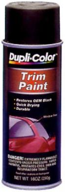 Dupli-color Trim Paint - Flat Black