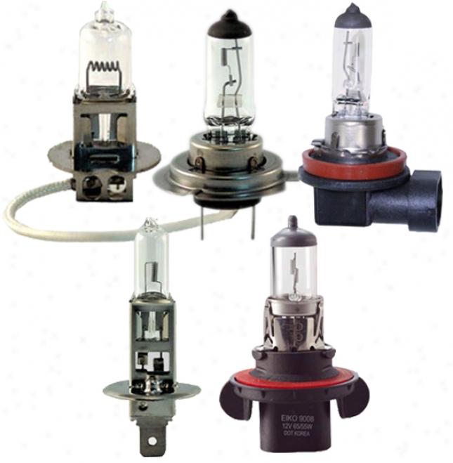 Eiko Halogen Fog & Driving Light Bulbs (buy Any 10 And Save)