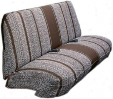 Elegant Saddle Blanket Full Size Truck Bench Wiyh Headrest