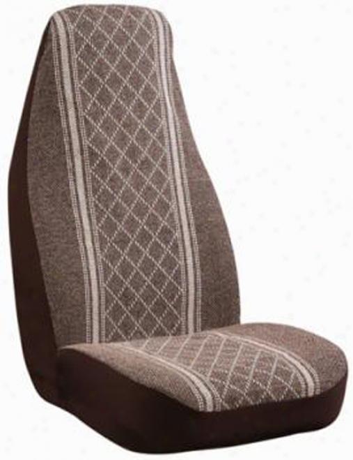 Elegant Santa Fe Brown Seat Cover