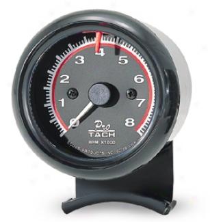 Equus 2-1/2'' Black Tachometer