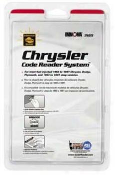 Equus 3165 Chrysler Code Reading System (obdi)