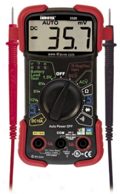 Equus Auto-ranging Dmm Electrical Tester