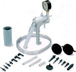 Equus Hand Vacuum Pump & Brake Bleeding Kit