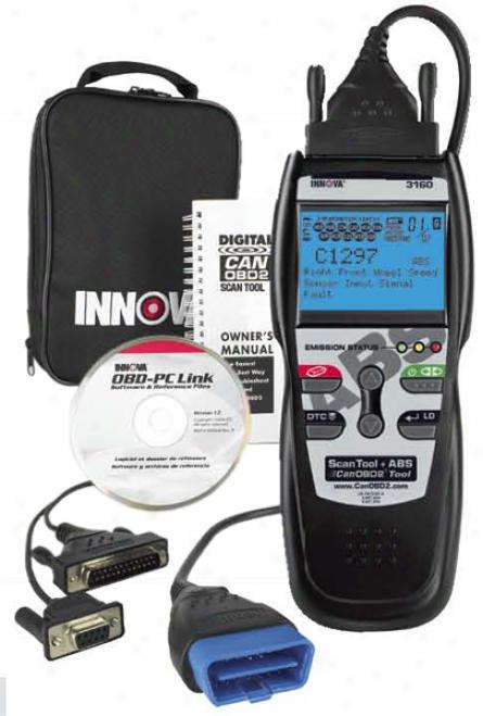 Equus Innova 3160 Abs Canobd2 Code Reader & Scan Tool