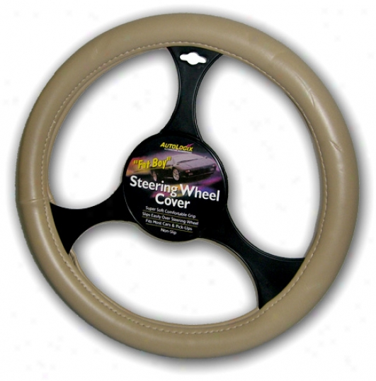 Fat Boy Leather Steering Gyrate Cover