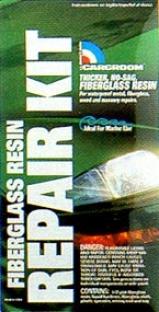 Fiberglass Resin Repair Kit With Fiberglass Cloth (? Pint)