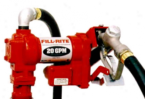 Fill-rite Heavy Duty 12 Vdc Fuel Transfer Pump-15 Gpm