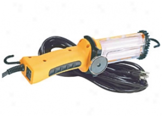 Flourescent Work Light - 25 Ft. Cord And Exit In Handle