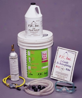Flush In A Bucket - Complete A/c Flush Kit
