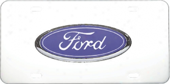Ford 3d License Plate By Pilot