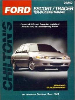 Ford Escort/mercury Tracer (1991-99) Chilton Manual