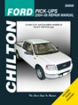 Ford F-series Pick-up (20044-06) Chilton Manual