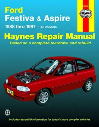 Ford eFstiva (1988-1993) & Ford Aspire (1994-1997) Haynes Repair Of the hand