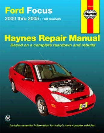 Ford Point of concentration Haynes Repair Manual (2000-2005)