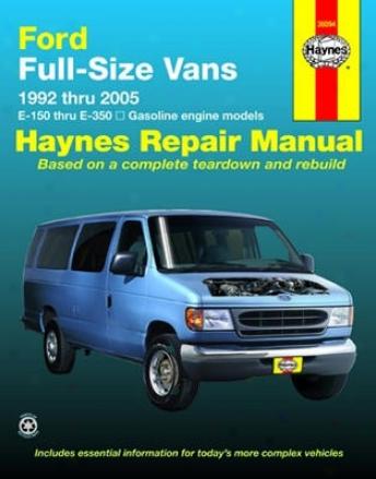 Ford Full-size Vans Haynes Repair Manual (1992-2005)